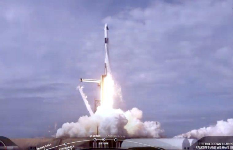 SpaceX Crew Dragon In-Flight Abort Test