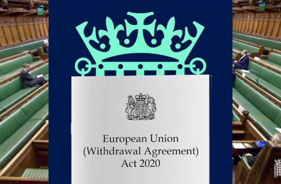 Brexit Bill Given Royal Assent
