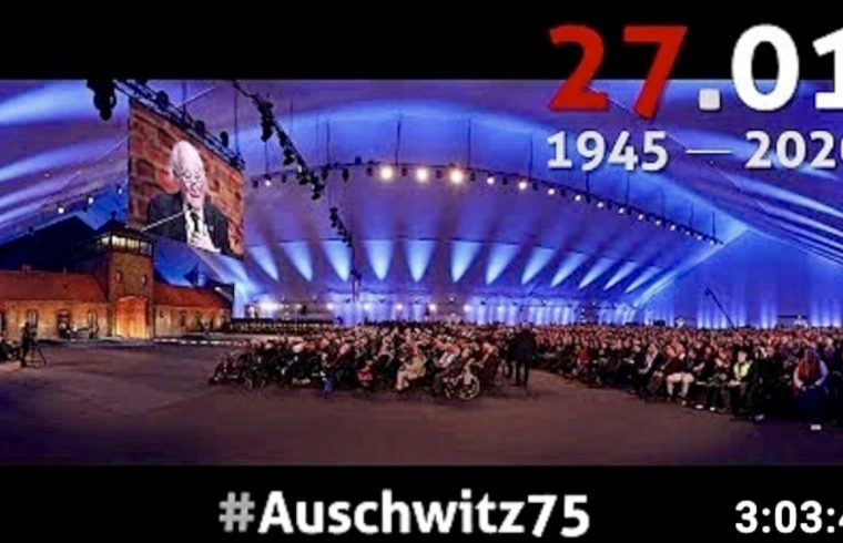 Auschwitz commemorates 75th anniversary