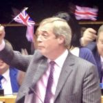 Farage not leaving quietly