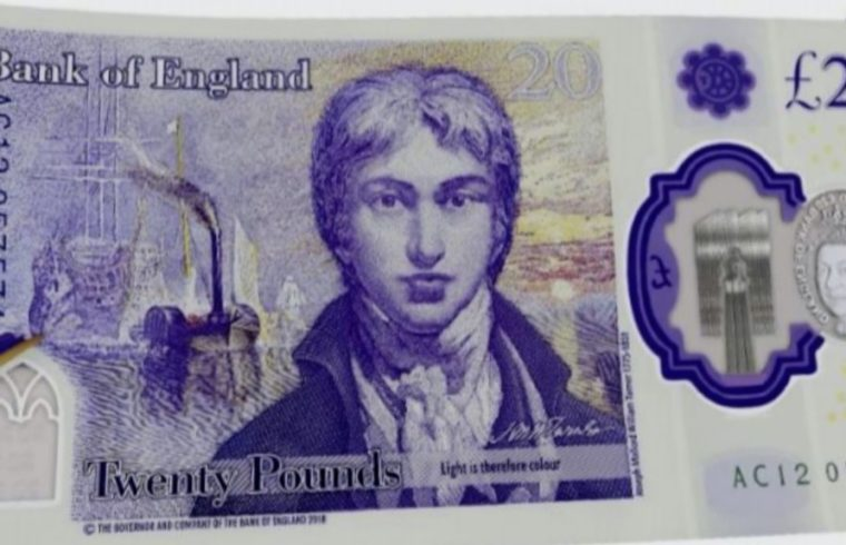 New £20 Note Features Turner