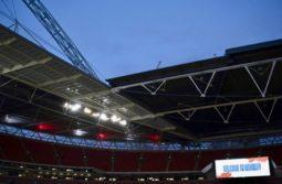 an empty Wembley