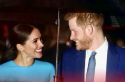 Meghan joins Harry back in Britain