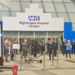 Nightingale hospital opened Excel Centre