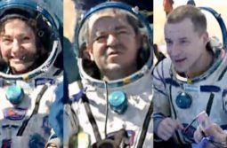Live Expedition 62 Crew Landed