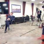 media noting the extended lockdown