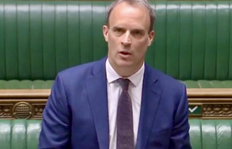 Dominic Raab Foreign Secretary