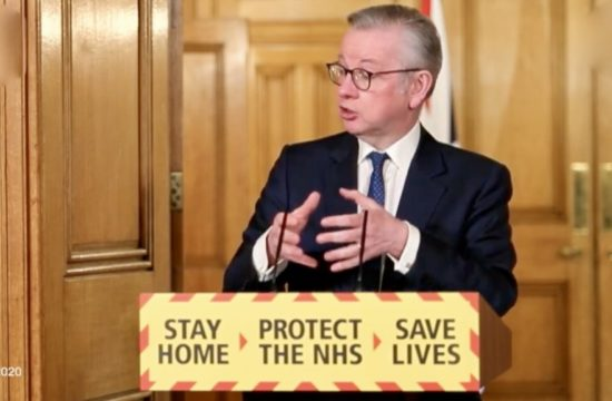 UK Cabinet Office Minister Michael Gove