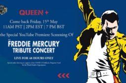 Freddie Mercury Tribute Concert Premiere