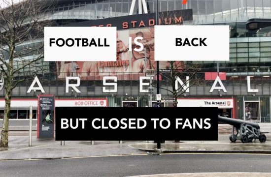 Football is Back But Closed to Fans