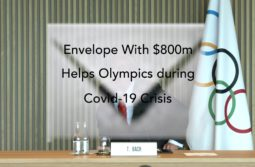 Envelope with $800m helps Olympics During Covid-19 crisis