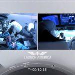 mascot joins astronauts