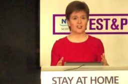Nicola Sturgeon eases lockdown in Scotland