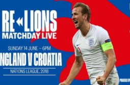 England vs Croatia Live Full Match