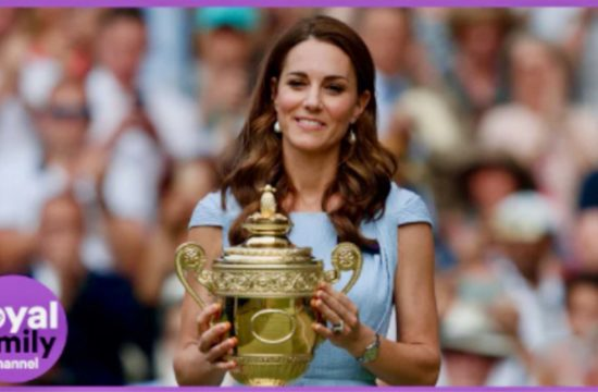 Duchess of Cambridge Delights Wimbledon Fans
