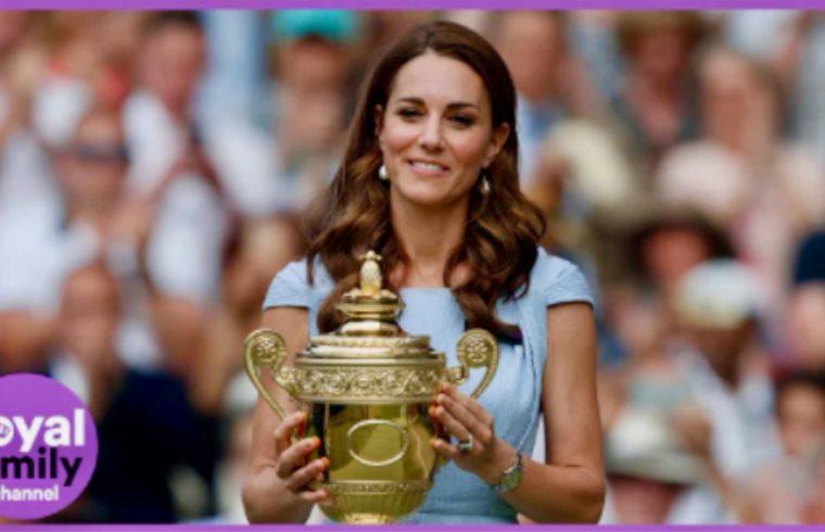 Duchess of Cambridge Delights Wimbledon Fans
