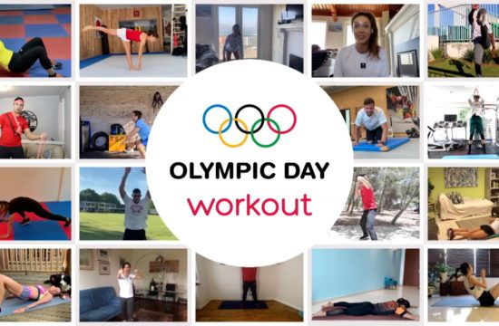 World's Largest Online Workout Celebrates Olympic Day 2020