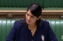 Priti Patel: Justice will follow thuggery
