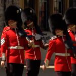Welsh Guards salute