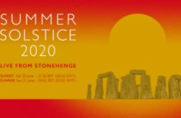 LIVE Sunset Summer Solstice 2020 at Stonehenge