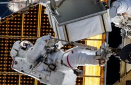 International Space Station Spacewalk
