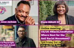 Rev Jesse Jackson - Diane Abbott - US/UK