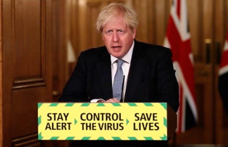 news conference - Boris Johnson