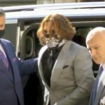 Johnny Depp arrives for final arguments