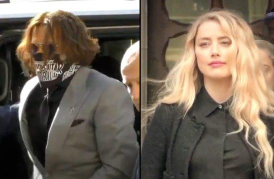 Depp and Amber Heard