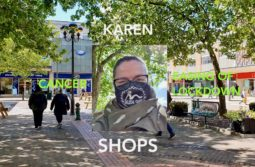 Karen Cancer Easing of Lockdown Shops