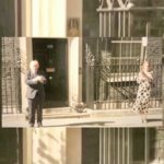Boris and Carrie applaud