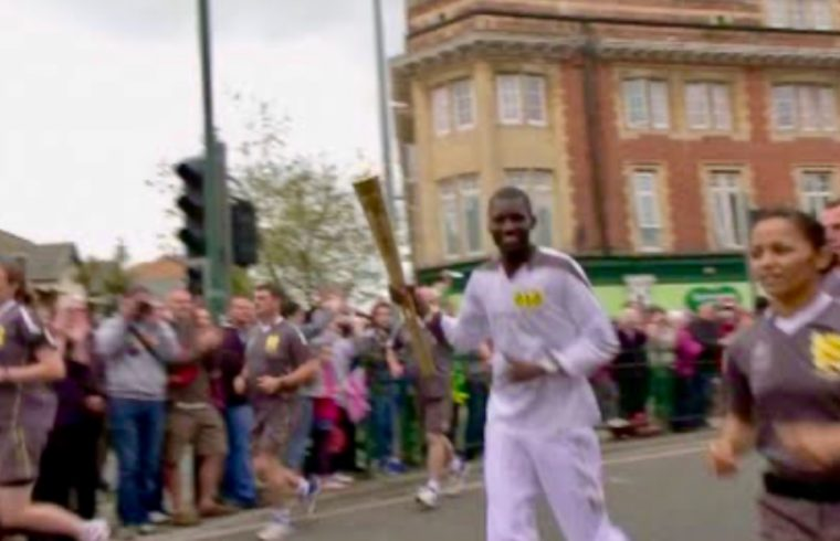 UK Rapper In Olympic torch Relay
