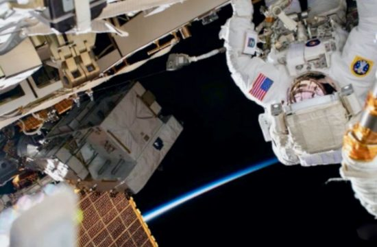 Spacewalk to Upgrade Space Station's Power System