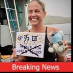Chloe breaks English Channel record