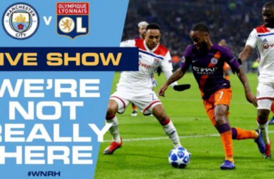 LIVE! Man City v Lyon