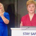 Sturgeon says sorry