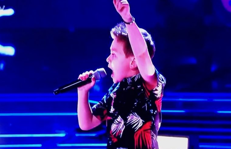 The Voice: George from team Danny