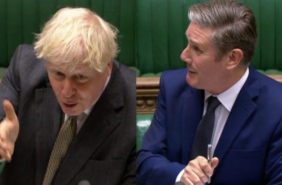 Live: Boris Johnson faces Keir Starmer at PMQS