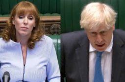 PMQs Angela Raynor Faces Boris Johnson