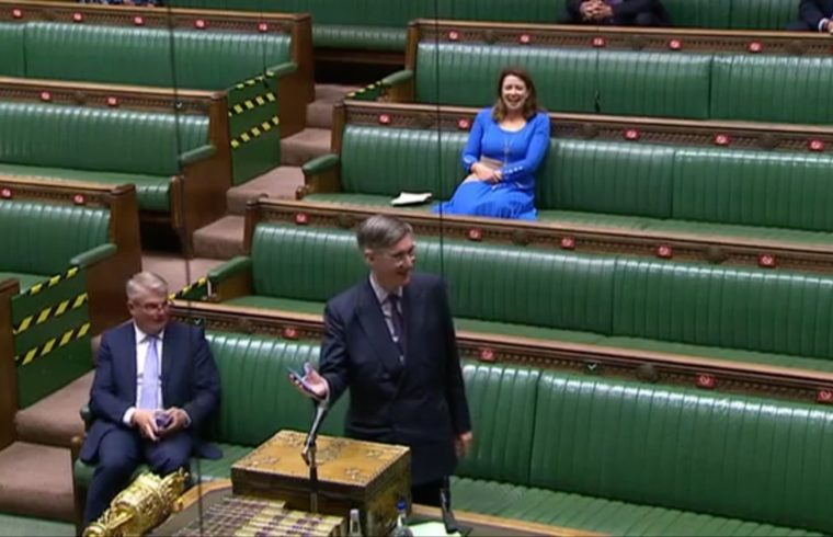 'Rule Britannia' plays out in Commons
