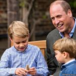 Prince William and children
