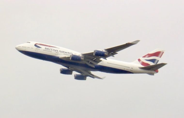Not Goodbye but Farewell to BA's 747