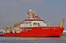 Sir David Attenborough new Polar Ship set for sea trials