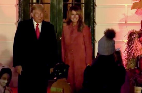 President Trump and First Lady Host Halloween at the White House