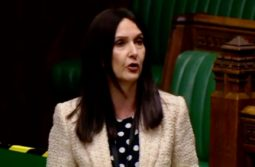 MP Margaret Ferrier in Parliament with Covid-19 symptoms
