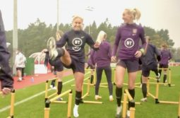 Go inside training with the Lionesses