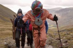 Lloyd Scott tops Scafell Pike next Snowdon!