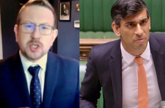 Andrew Gwynne MP, Labour - Rishi Sunak, Chancellor