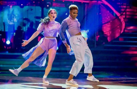 Strictly Come Dancing - Nicola and Katya