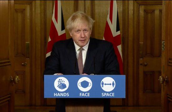 Boris Johnson briefing on latest tiers